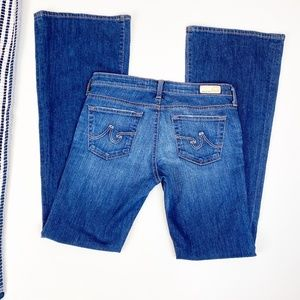AG Adriano Goldschmied Belle Flare Jeans Size 28